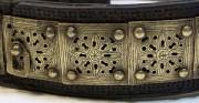 Pas turkmeński - XVIII-XIX w. [od góry: stan przed oraz po konserwacji i restauracji]