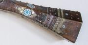Strzelba turecka, janczarka - XVII w. [od góry i od lewej: stan przed oraz po konserwacji i restauracji]