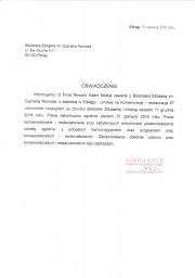 Referencje od Biblioteki Elbląskiej im. Cypriana Norwida