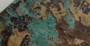 kaplerz - obiekt archeologiczny [po lewej stan przed konserwacją, po prawej stan po konserwacji]