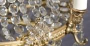 Kristall-Kronleuchter - [nach der Konservierung und Restaurierung]