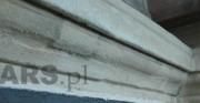Konserwacja gloriety - piaskowiec, XIX wiek [po lewej stan przed konserwacją i restauracją, po prawej stan po konserwacji i restauracji]