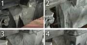 Konserwacja gloriety - piaskowiec, XIX wiek [etapy prac przy konserwacji i rekonstrukcji filaru]