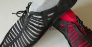 użytkowa para butów wykonana na podstawie konserwowanego przez firmę REWARS buta późnośredniowiecznego, odnalezionego w trakcie prac archeologicznych prowadzonych w Sanoku