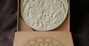 lusterko z kości słoniowej - 1 poł. XIV wieku [kopia]