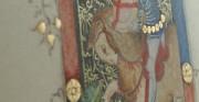 Święty Jerzy - 2 poł. XIV wieku; miniatura na pergaminie [lico i odwrocie kopii]