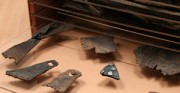 Schutzverpackungen - archäologische Leder