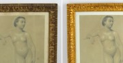 Drawing by Józef Brandt - private collection [from left: before and after conservation and restoration]