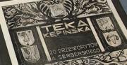 Opakowanie ochronne do przechowywania Teki Kępińskiej z 20 drzeworytami Antoniego Serbeńskiego z kolekcji Muzeum Ziemi Kępińskiej [na zdjęciach teczka ochronna z umieszczoną wewnątrz Teką Kępińską]