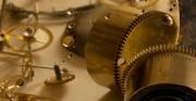 Kartel II, mechanizm - [od lewej: stan pzed i po konserwacji i restauracji]